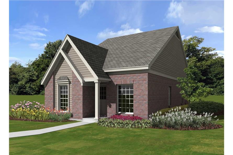 French, Traditional House Plans - Home Design SU-B1234-44-FT