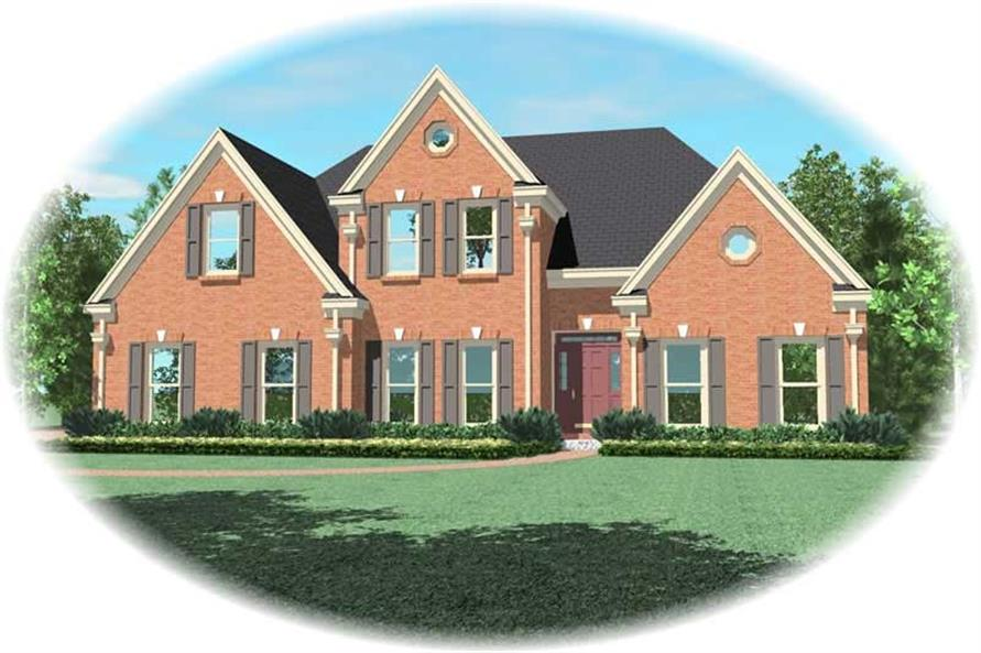 Main image for house plan # 20329