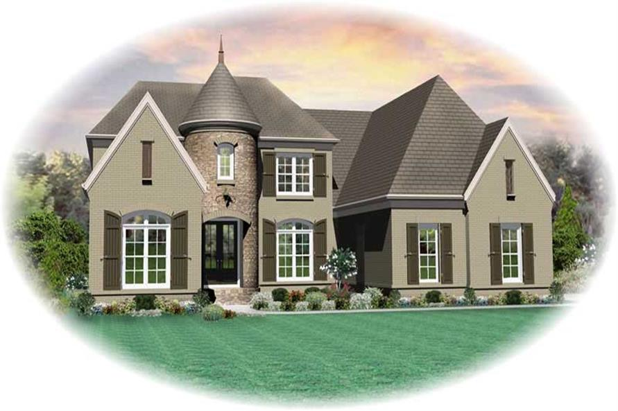 Main image for house plan # 20362