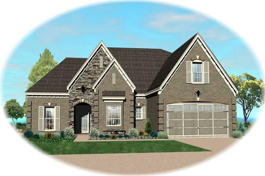 Main image for house plan # 19975