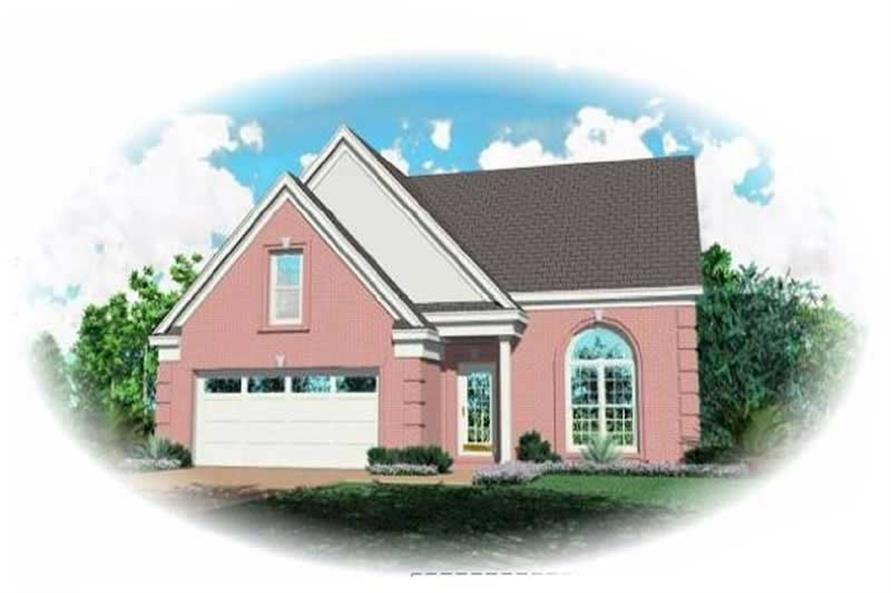 Main image for house plan # 7585