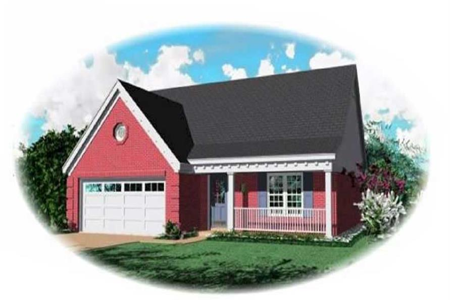 Main image for house plan # 7589