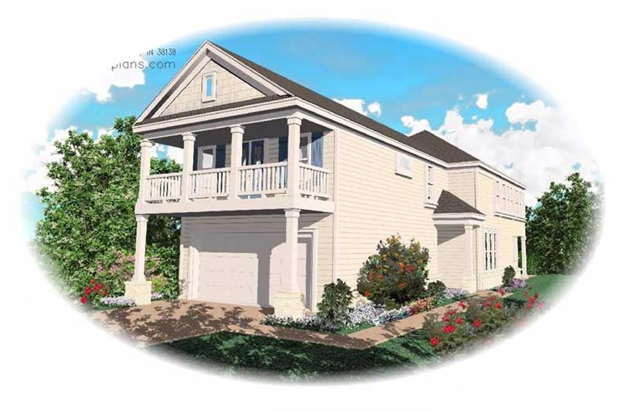 Main image for house plan # 7580