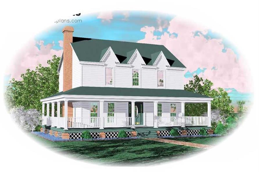 Main image for house plan # 7578