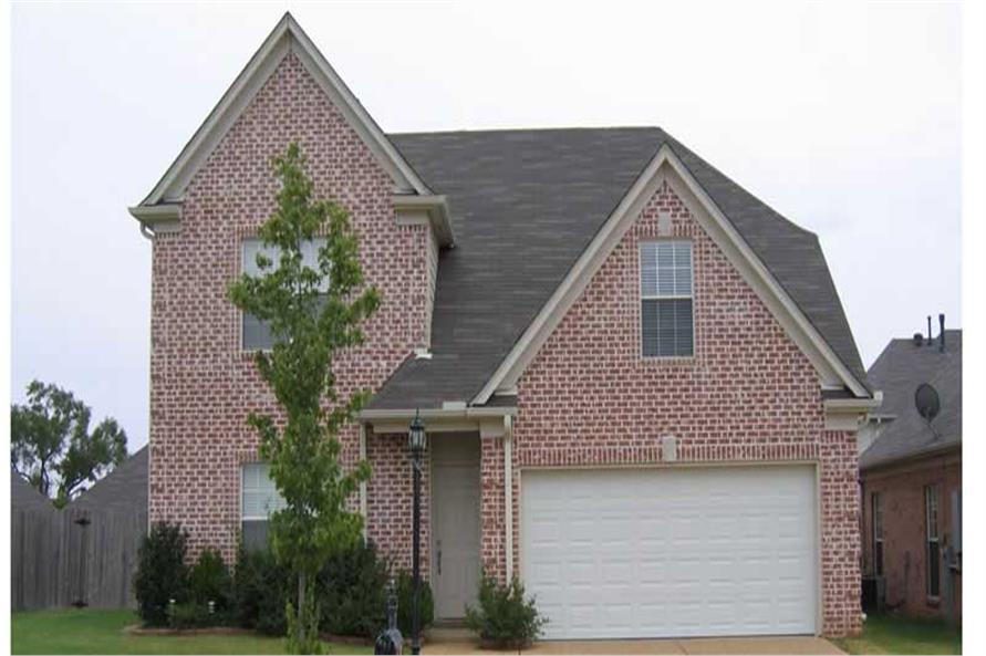 This is another Color photo of these Traditional Houseplans.