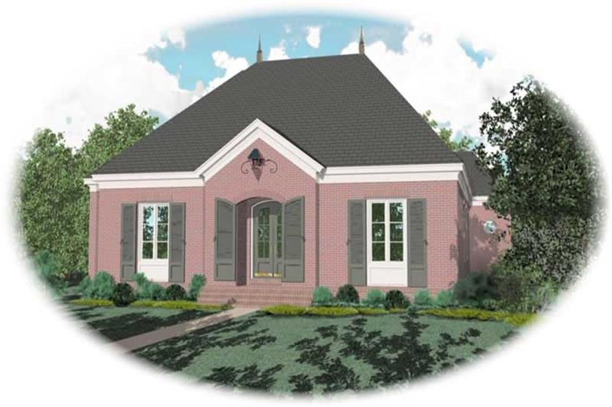 Main image for house plan # 10978