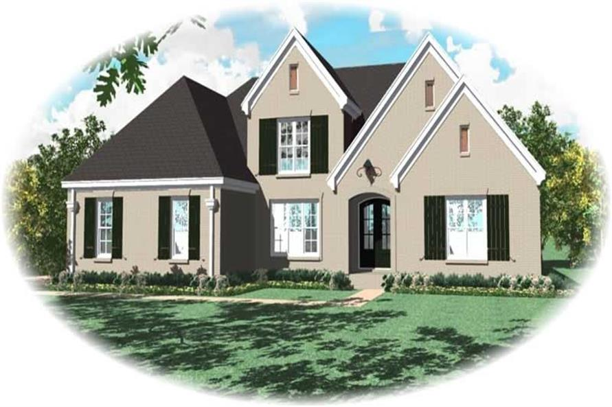 Main image for house plan # 10844