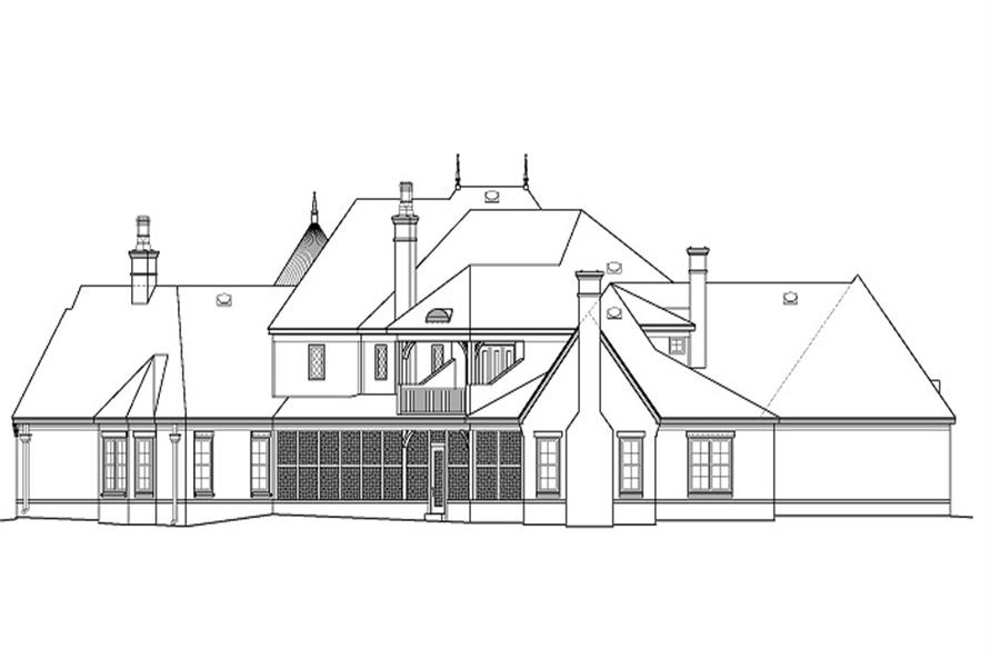 170-1863 rear elevation