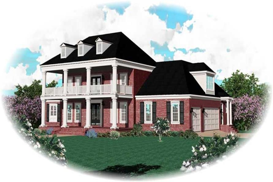 Main image for house plan # 10914