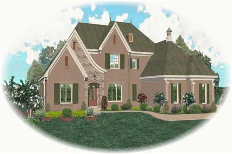 Main image for house plan # 10993