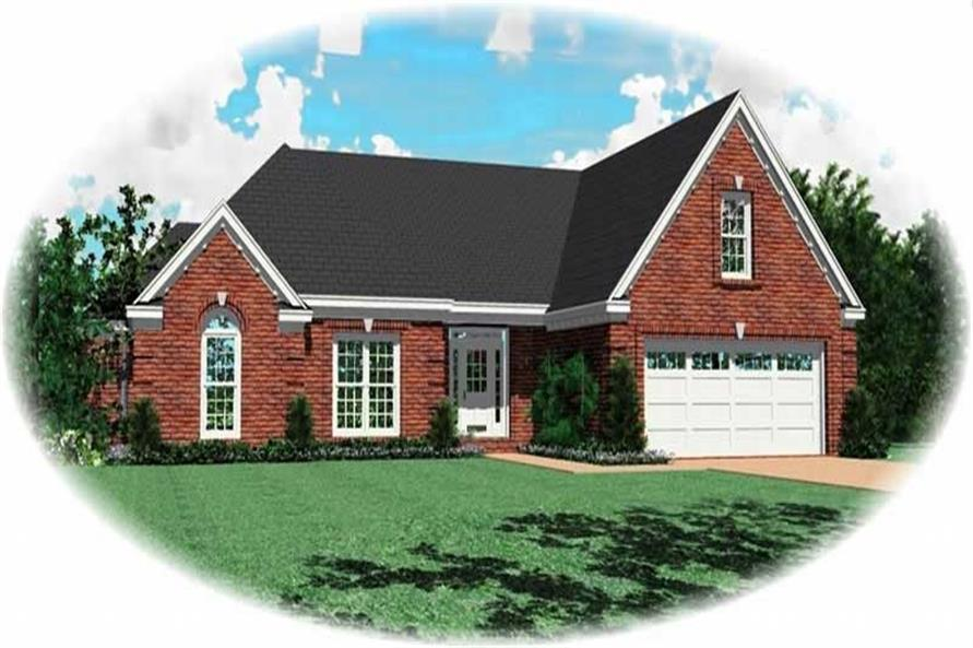 Main image for house plan # 10961