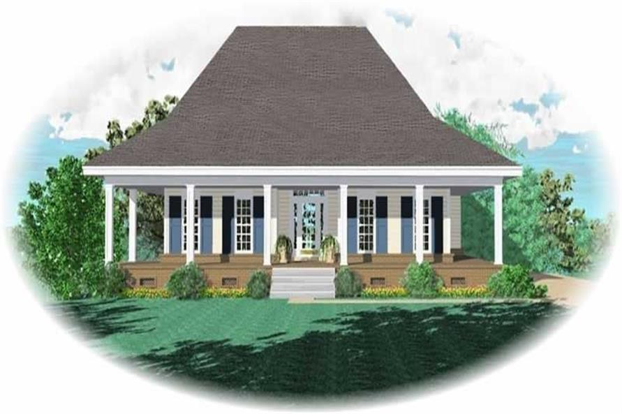 Main image for house plan # 10945