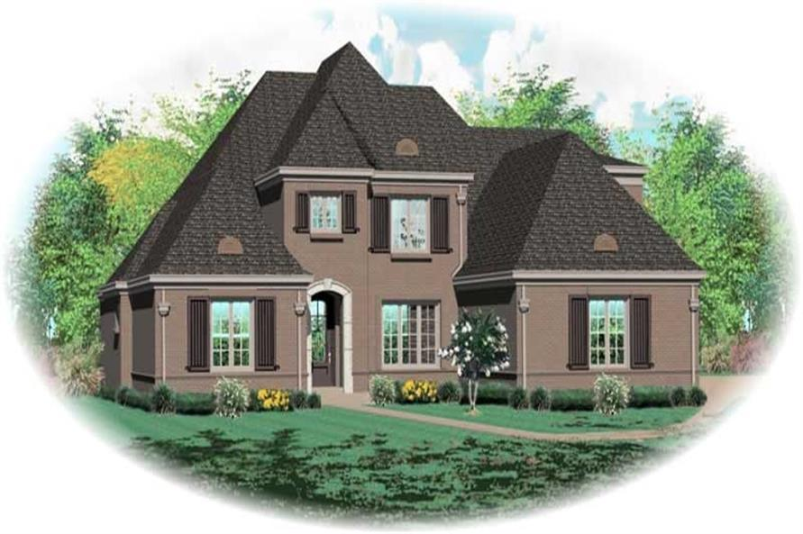 Main image for house plan # 11005