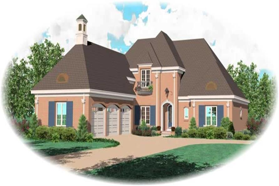Main image for house plan # 11000
