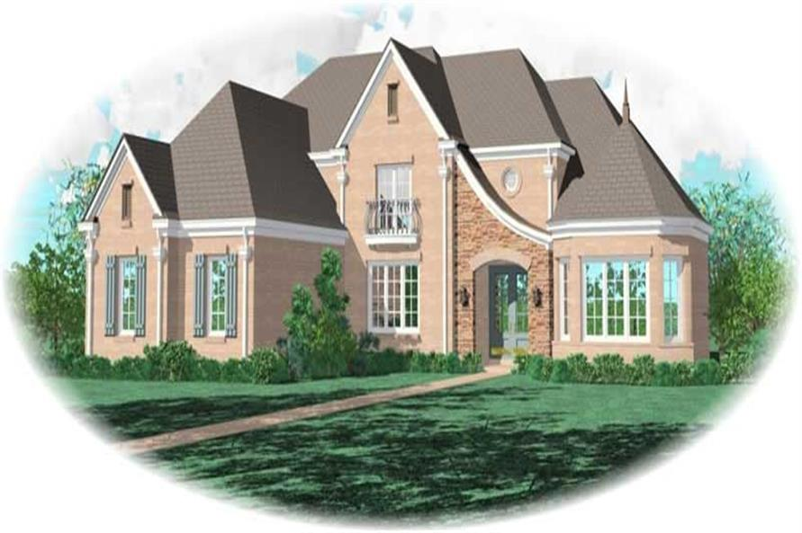 Main image for house plan # 10988