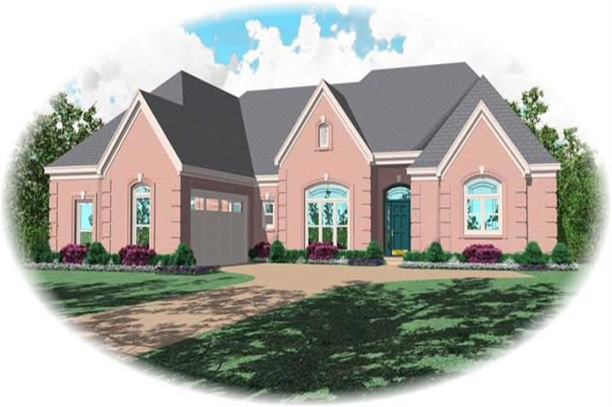 Main image for house plan # 10986