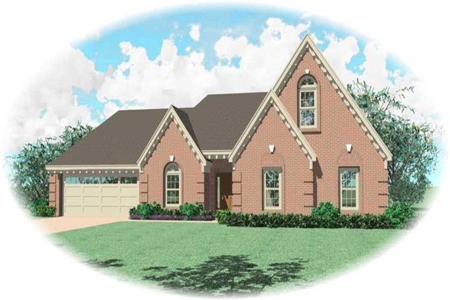Main image for house plan # 10814