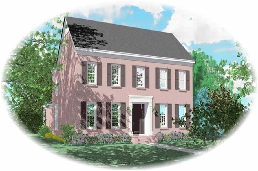 Main image for house plan # 10785