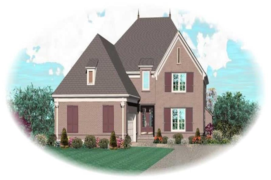 Main image for house plan # 10782