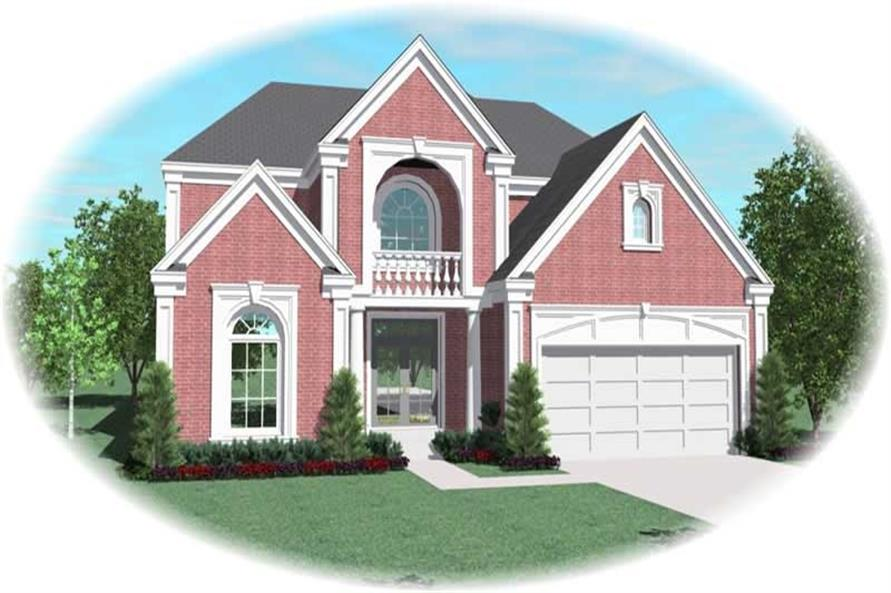 Main image for house plan # 10965