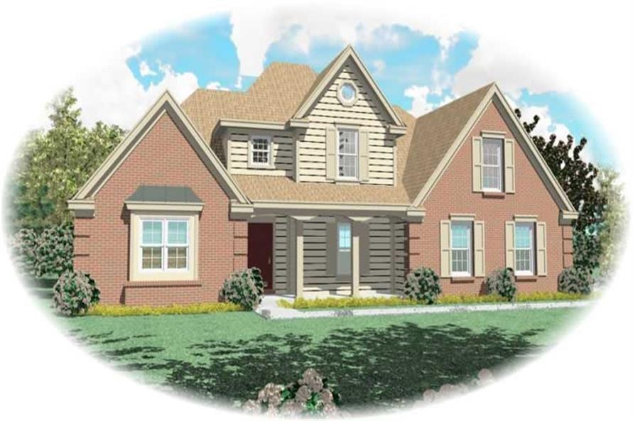 Main image for house plan # 10861
