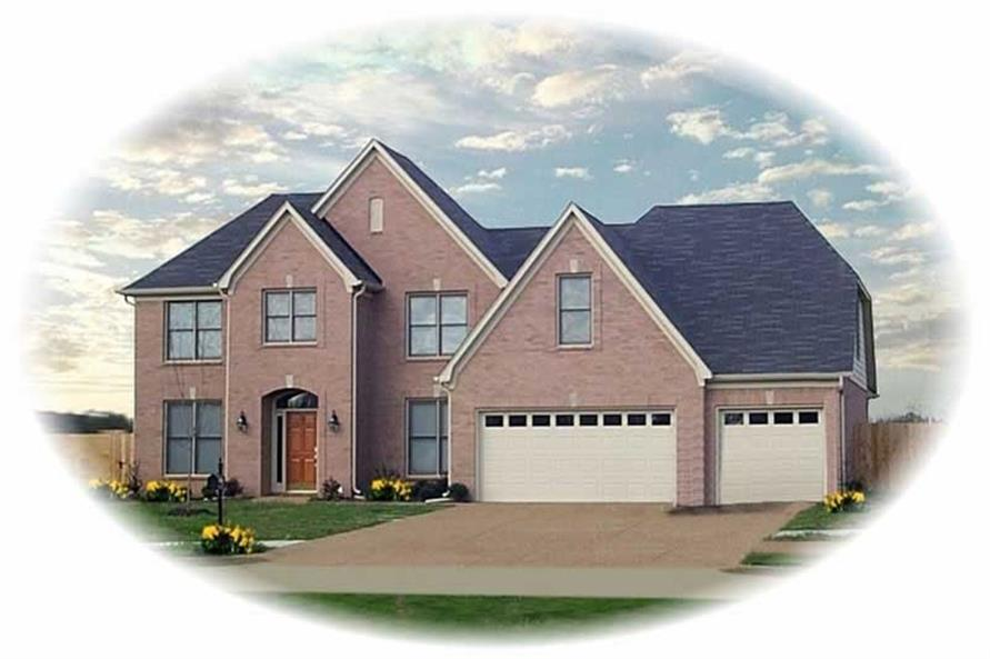 Main image for house plan # 10878