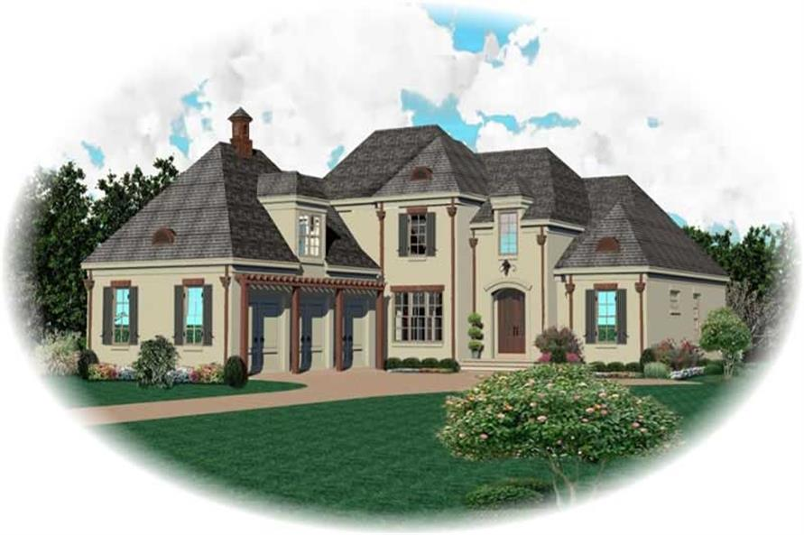 Main image for house plan # 10805