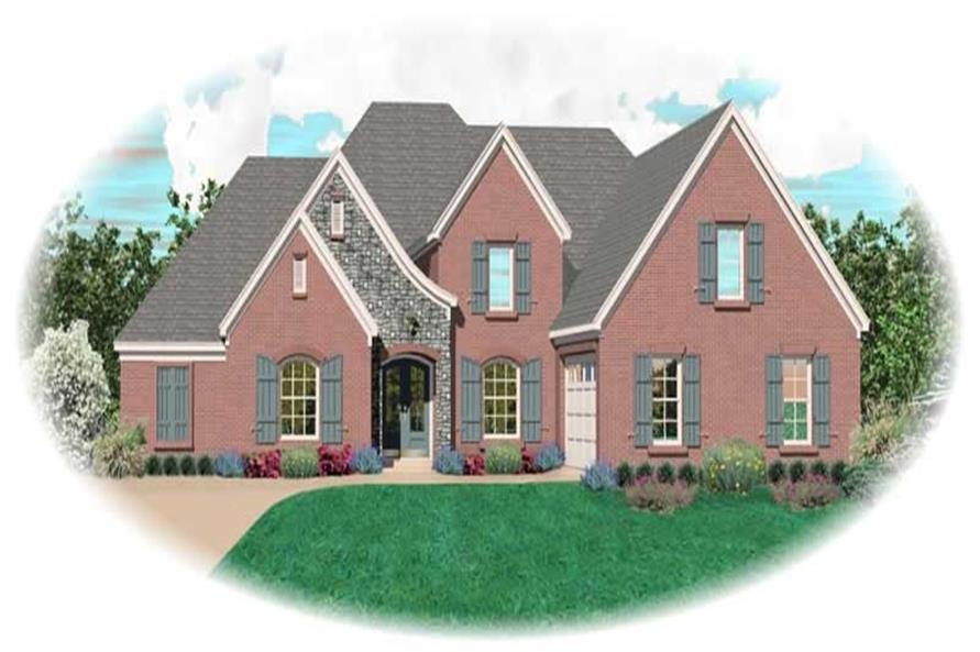 Main image for house plan # 10851