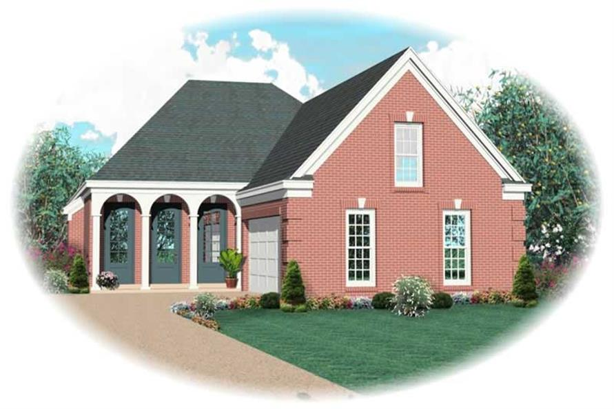 Main image for house plan # 10955