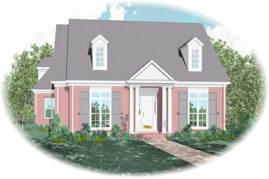 Main image for house plan # 10980