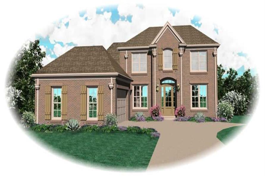 Main image for house plan # 10959