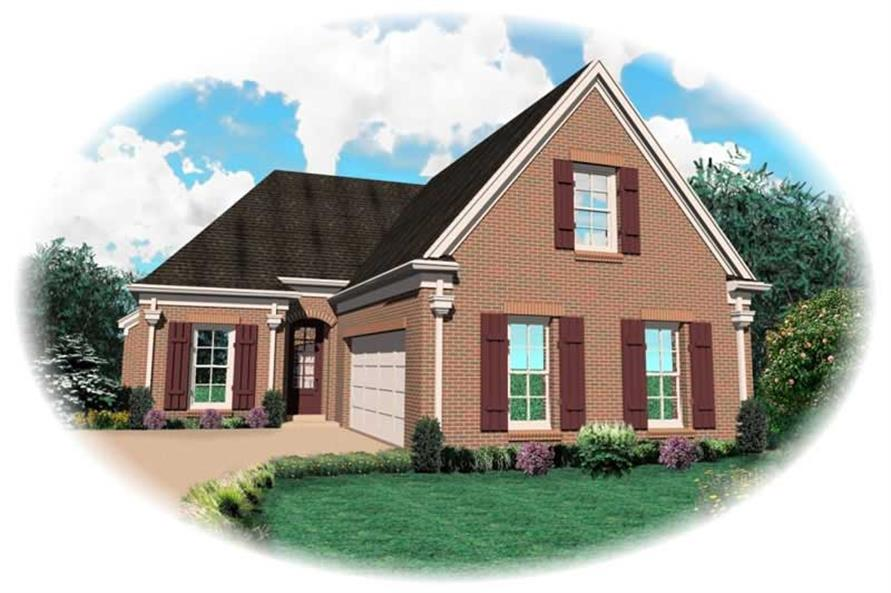 Main image for house plan # 10956