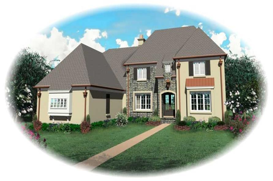 Main image for house plan # 10912