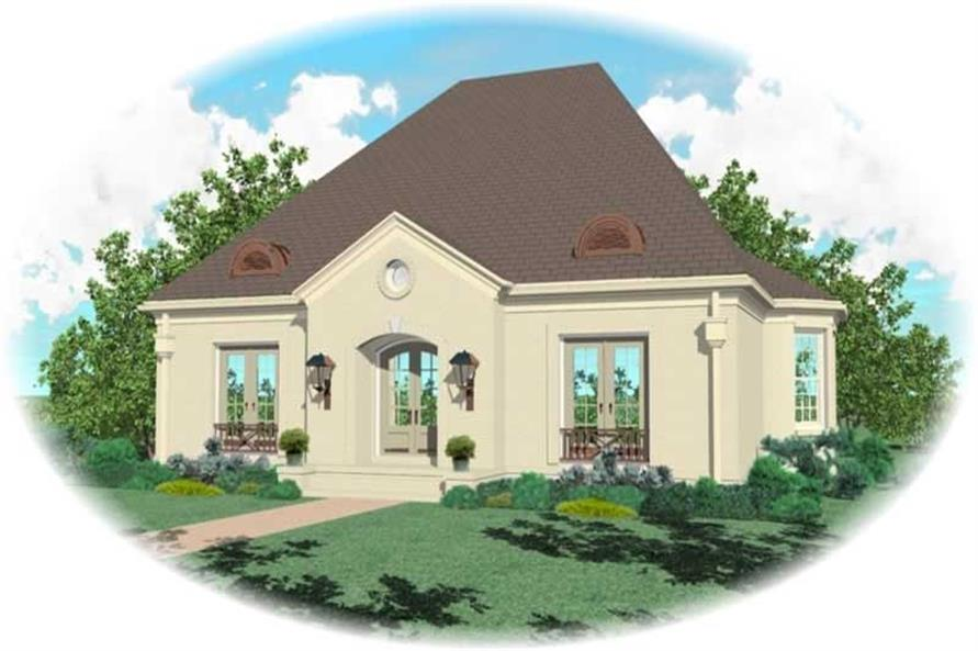 Main image for house plan # 10907