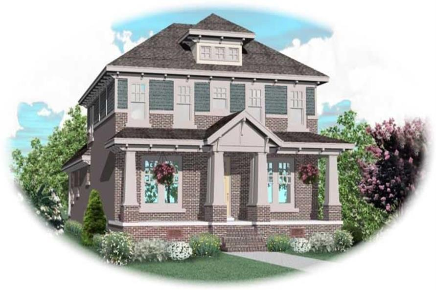 Main image for house plan # 10745