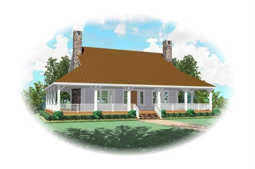 Main image for house plan # 10755