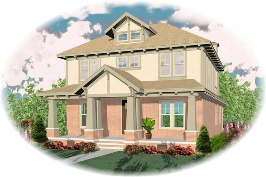 Main image for house plan # 10770