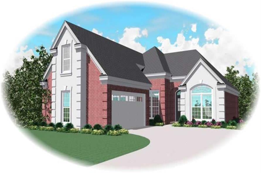 Main image for house plan # 10769