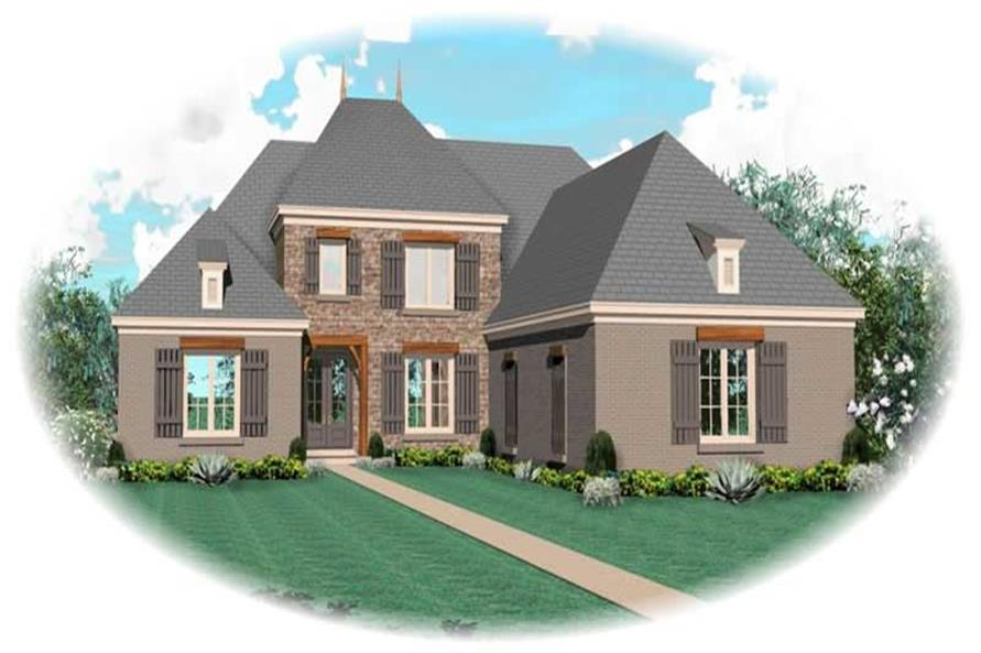 Main image for house plan # 10615