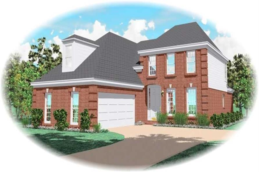 Main image for house plan # 10763