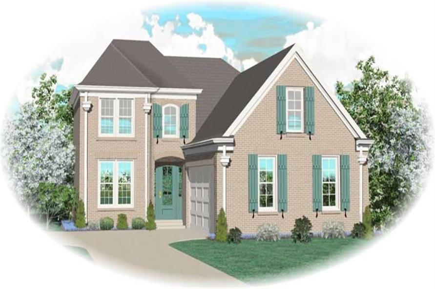 Main image for house plan # 10650