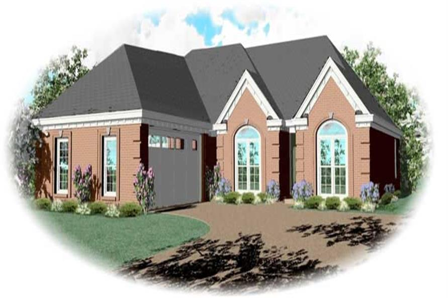Main image for house plan # 10570
