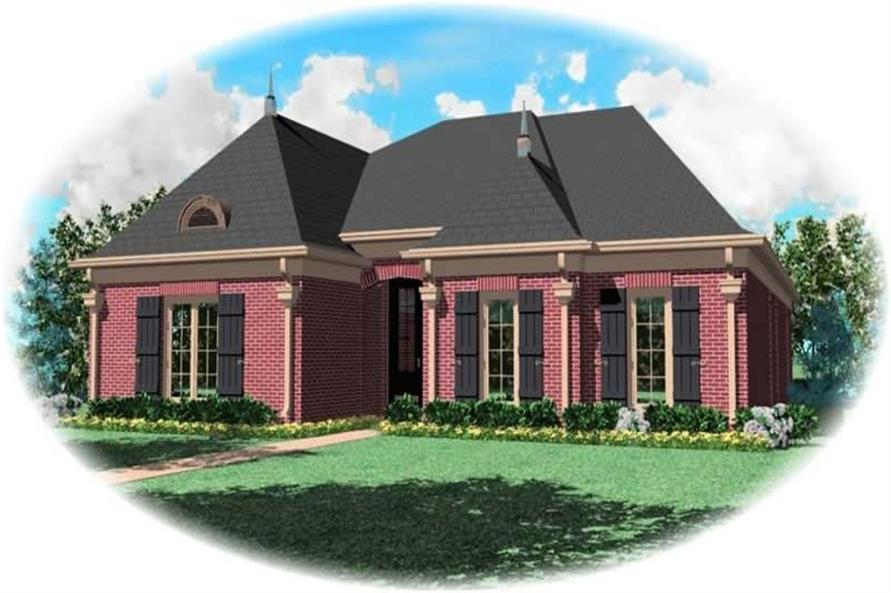 Main image for house plan # 10737