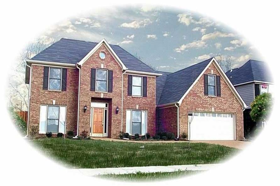 Main image for house plan # 10707
