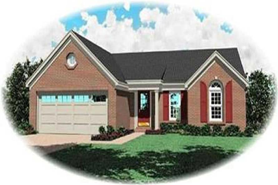 Main image for house plan # 8251