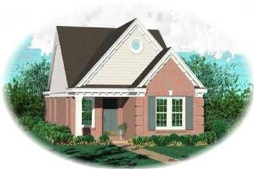Main image for house plan # 8253
