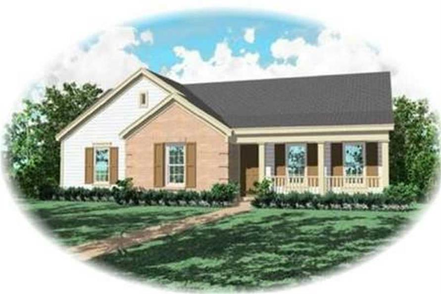 Main image for house plan # 8257