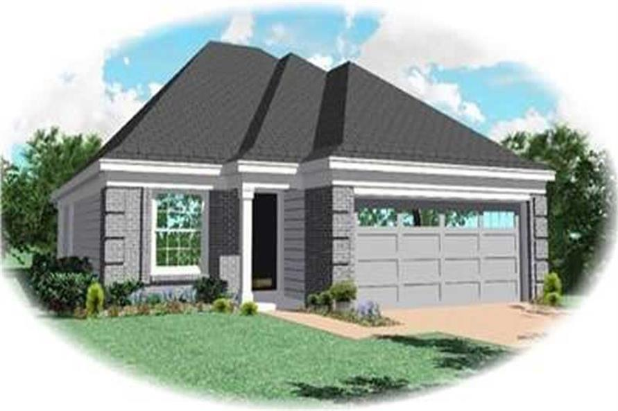 Main image for house plan # 8258