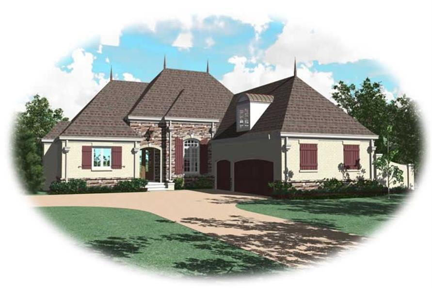 Main image for house plan # 10720
