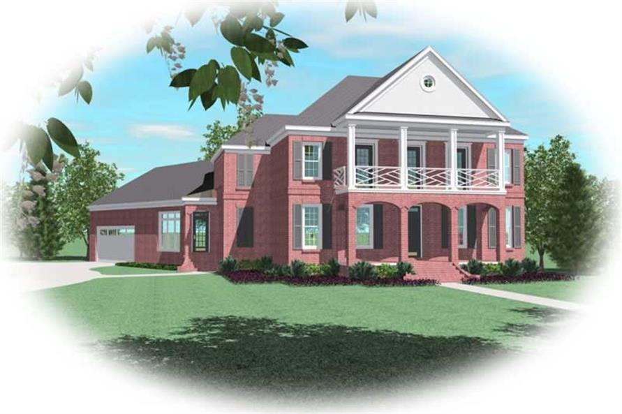 Main image for house plan # 10716